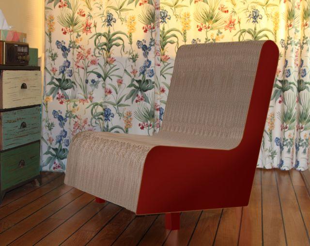 Comment faire des fauteuils en carton for Comment fabriquer un fauteuil