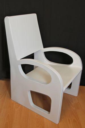 tutoriel pour faire un fauteuil en carton aux parois minces. Black Bedroom Furniture Sets. Home Design Ideas